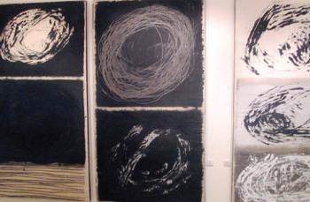 """معرض """"الفن في زمن صعب""""  ..  معالجة بصرية للراهن السوري"""