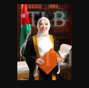 د. عائشة عبدالكريم مساعدة   ..  مبارك التخرج بتفوق