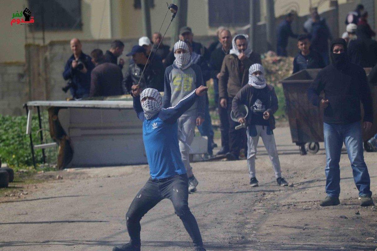 إصابات بالاختناق واحتجاز مصور في مواجهات ببلدة تقوع