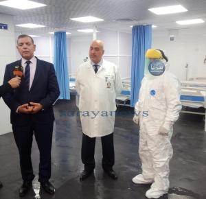 نجل وزير أسبق في العزل الصحي بالبشير للاشتباه بإصابته بفيروس كورونا