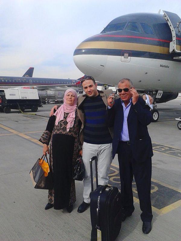 """مريم ام خالد زوجة """"بهجت الزعبي"""" سلامات"""