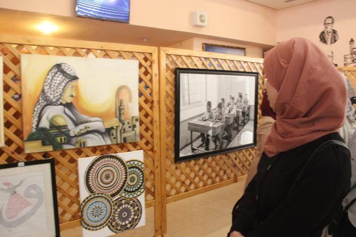 القدس عاصمة الثقافة ..  أكثر من 100 لوحة تشكيلية تعكس قضايا مقدسية