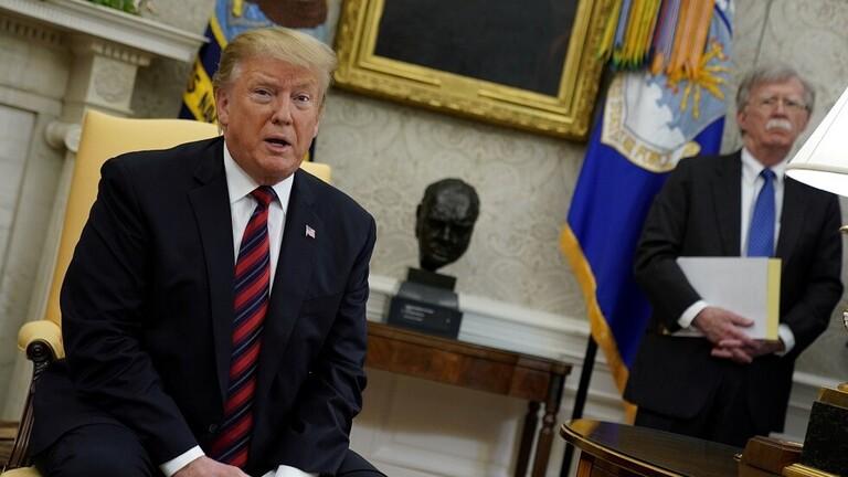 ترامب يقيل مستشار الأمن القومي جون بولتون من منصبه
