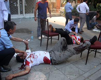 الأناضول: الانفجار وقع في غرفة الحراسة في السفارة الاميركية في أنقرة .. فيديو