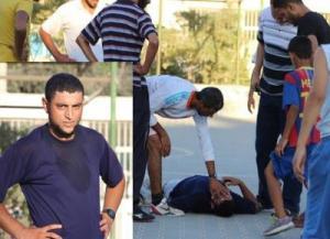 وفاة لاعب في رفح أثناء مباراة كرة قدم ..صورة