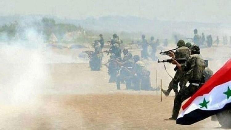 الجيش السوري يوسع سيطرته في مناطق البادية المتاخمة للحدود الاردنية بعد سيطرته على معبر حدودي