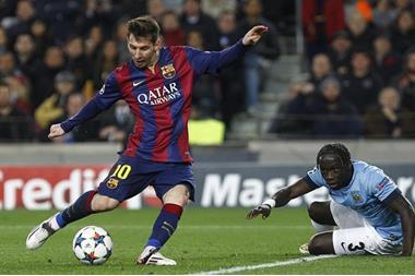 صفقة تبادلية بين برشلونة ومانشستر ستي
