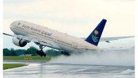 طائرة تهبط اضطراريًّا بجازان بسبب حالة ولادة