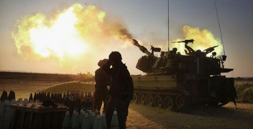 الاحتلال يقصف نقطتي رصد شمال قطاع غزة