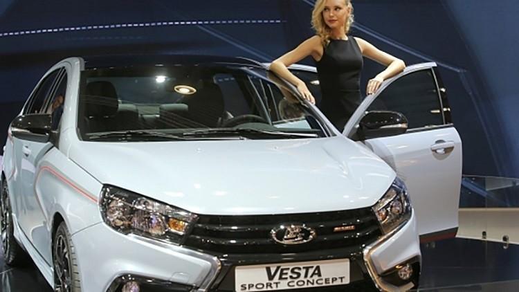سيارة لادا فيستا سبورت الروسية تظهر على الإنترنت