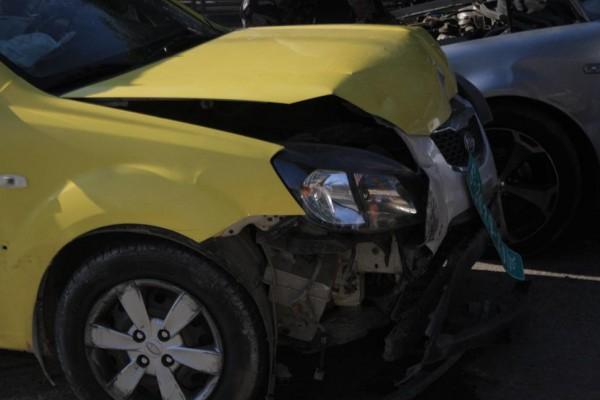 بالصور ..  ثلاثة إصابات بحادث سير  في اريحا