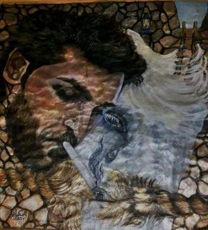 لوحة المكحل في هايكو