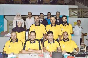 منتخب الطائرة يبدأ استعداداته للبطولة العربية