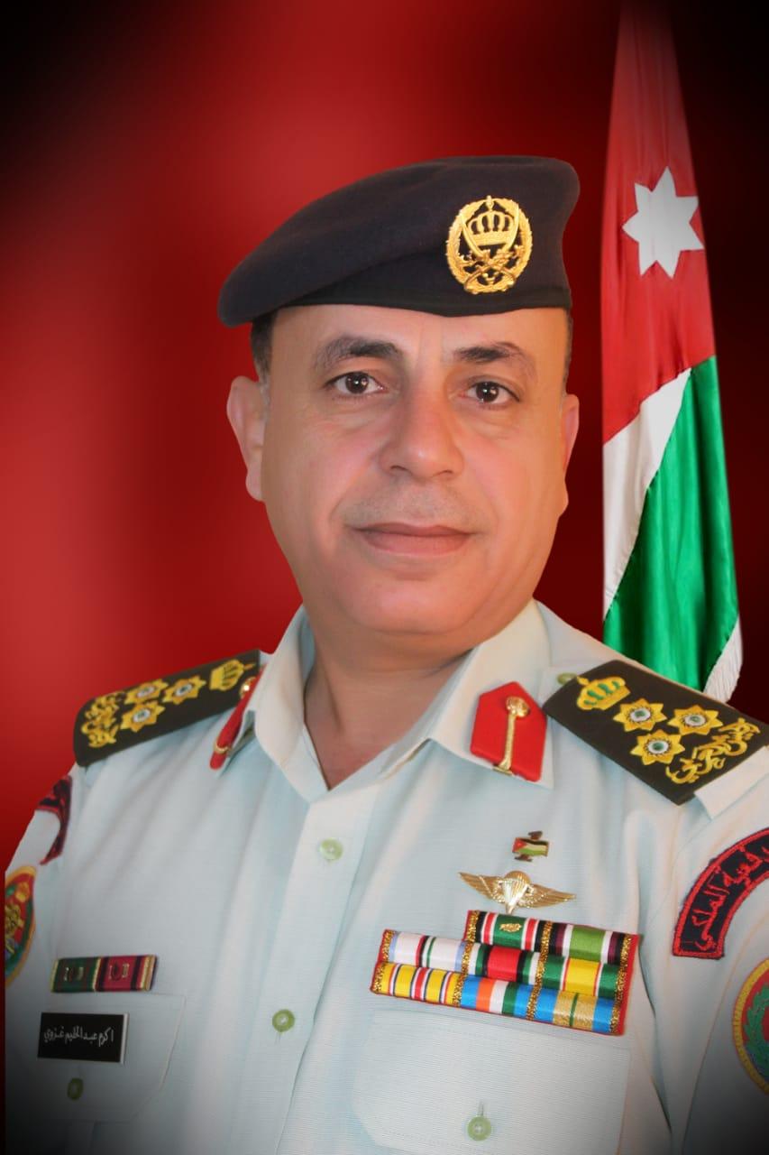العميد الركن أكرم عبد الحليم الغزو  ..  مبارك الترفيع