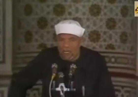 """بالفيديو  ..  الشعراوى يروي قصة """"ميعاد تحرير القدس """""""