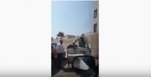 بعد نشر سرايا .. الوزير المصري يعتذر عن  فيديو اهانة عامل وطن من قبل مراقب في إربد ..  فيديو