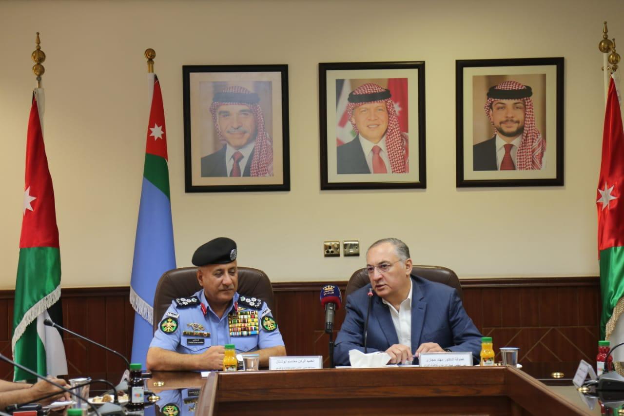 """حجازي: """"النزاهة"""" و الأمن العام شركاء استراتيجيين خدمة للوطن"""