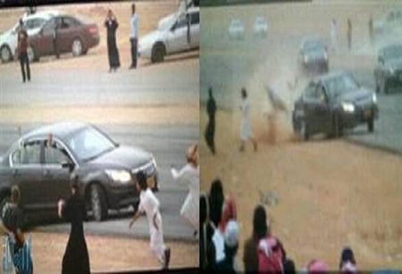 بالصور  ..  مفحِّط سعودي يقتل شاباً بالرياض