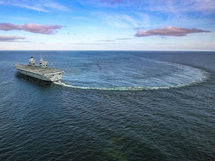 خبراء: دوران السفن حول نفسها في المحيط الأطلسي أمر حائر