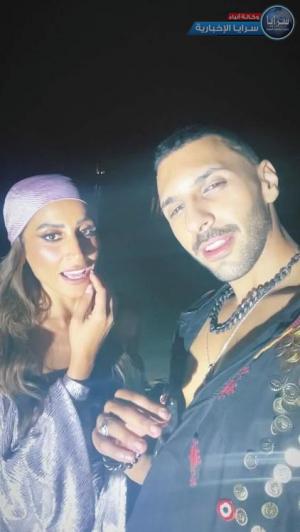 """بالفيديو والصور  ..  دينا الشربيني تعلن عن أول عمل غنائي مع """"حسن أبو الروس"""""""