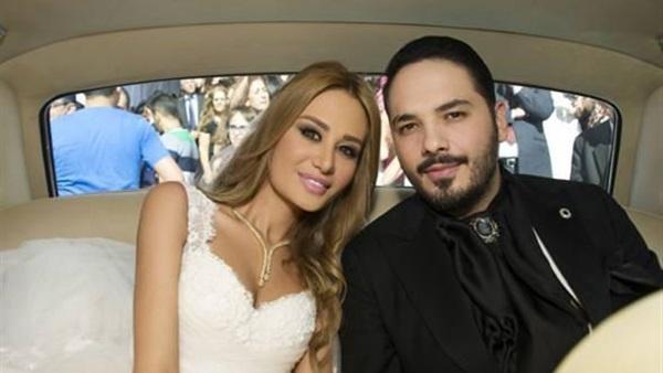 بالفيديو ..  زوجة رامي عياش غارقة في دمائها بعد انفجار بيروت