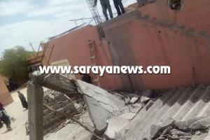 جرش: سقوط درج منزل على طفلة في قضاء برما