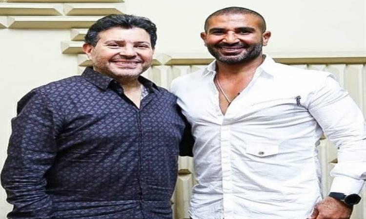 "تسجيل ""دويتو"" غنائي بين هاني شاكر وأحمد سعد"