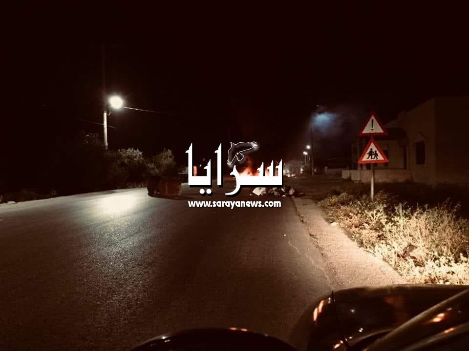 مسيرات وإعمال شغب وإغلاق طرق بالإطارات المشتعلة في معظم مناطق اربد  .. فيديو وصور