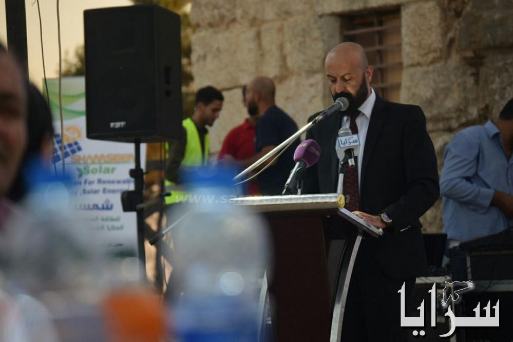 بالصور  ..  اطلاق اللجان المساندة المجتمعية من قلعة عجلون