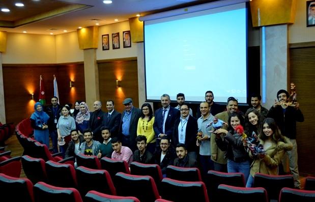 قسم التصميم الجرافيكي بجامعة عمان الاهلية يحتفل بطلبته المستجدين