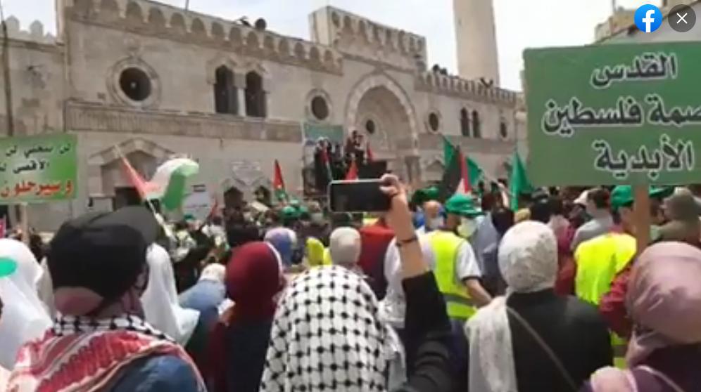 آلاف الأردنيين: أنقذوا حي الشيخ جراح