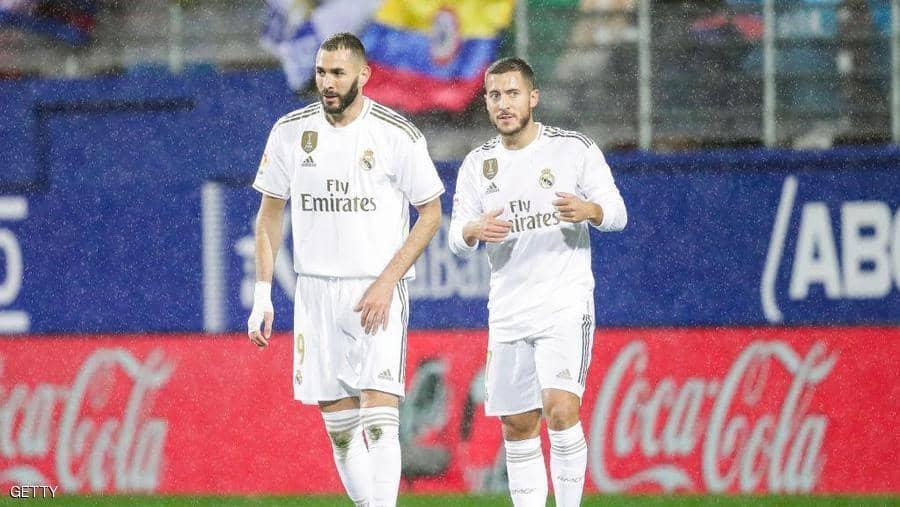 """هازارد يعلق على """"أزمة بنزيمة"""" ..   وما يعانيه مع ريال مدريد"""