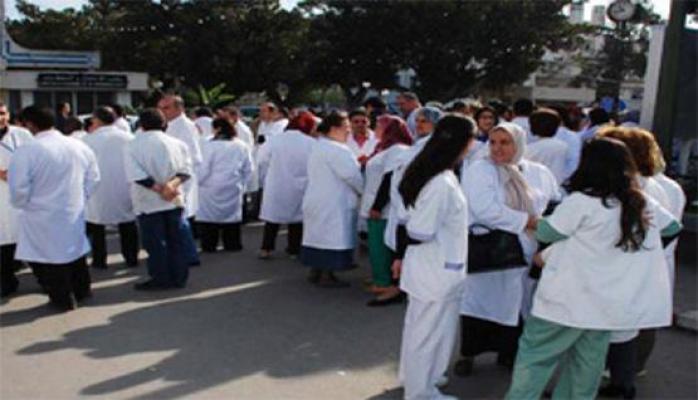 """""""الاطباء الممارسين"""" يعتصمون امام المجلس الطبي الخميس للمطالبة بإنصافهم"""