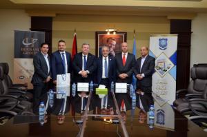 توقيع اتفاقية تعاون بين جامعة عمان الأهلية والأكاديمية الأمريكية للرياضة