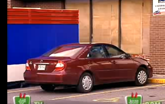 كاميرا خفية ,, يقومون بإخفاء السيارة كأنها سحبت