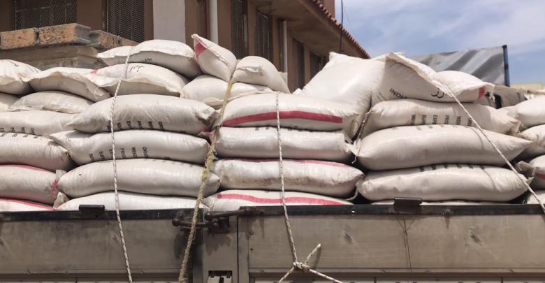 الزراعة ترفض إدخال (600) طن ارز  غير صالح للإستهلاك و تعيد تصديره