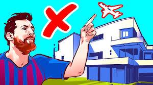 غير مسموح للطائرات بالعبور فوق منزل ميسي ..  فيديو