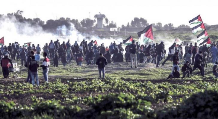"""(277) شهيدًا و (30)  ألف جريح بغزة خلال مسيرة العودة  .. """"تفاصيل"""""""
