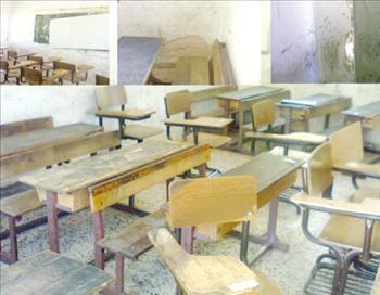 عمّان : إصابة حرجة لطالبة بعد سقوط لوح خشبي على رأسها داخل مدرستها