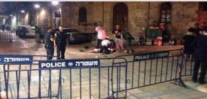 اصابة ثلاثة مستوطنين بعملية طعن في القدس