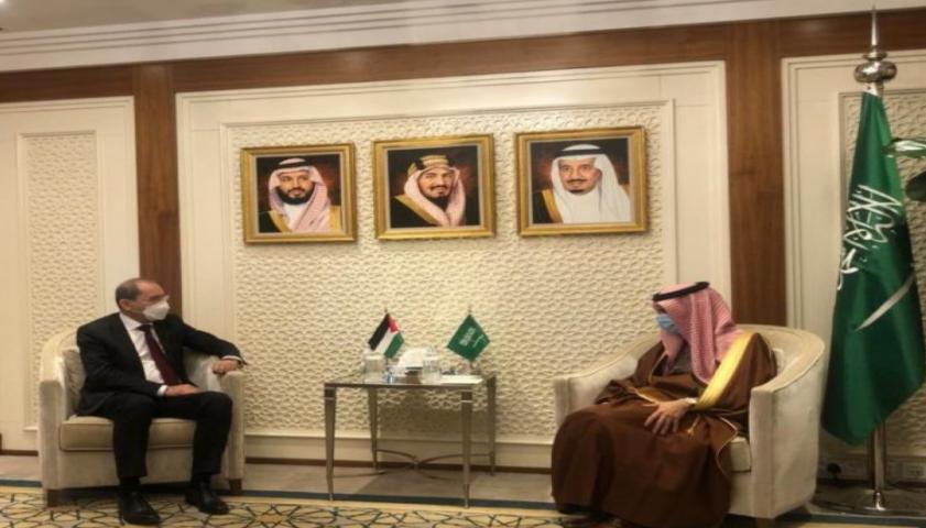 وزير الخارجية: أمن السعودية من أمن الأردن