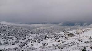 طقس العرب :تراكمات للثلوج فوق مرتفعات الـ 900 متر عصر الاربعاء