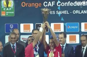 النجم الساحلي يتوج بلقب كأس الاتحاد الأفريقي