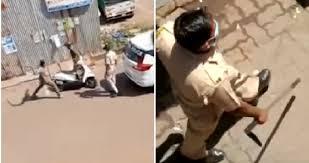 شاهد ..  عقوبة فورية للمخالفين لقرار حظر التجول في الهند