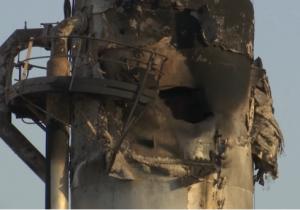 """بالفيديو  ..  شاهد حجم الاضرار التي تسببها الهجوم على اكبر شركة نفط في العالم """"ارامكو"""""""