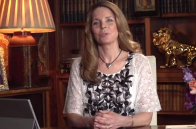 """بالفيديو.. الملكة نور تشارك نجوم """"هوليوود"""" في تأييد """"اتفاق ايران النووي"""""""