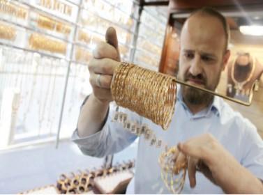 سعر غرام الذهب يرتفع 1.5 دينار في أسبوع