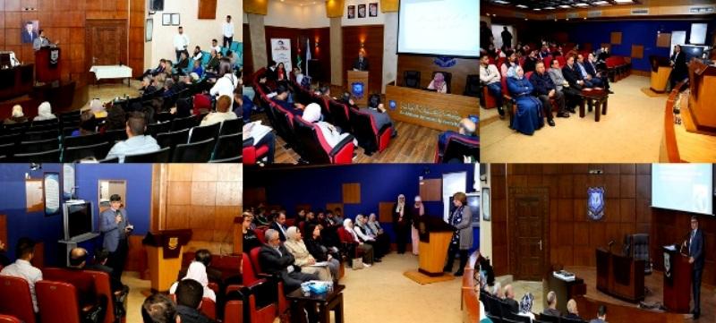 فعاليات وحفل اختتام الأسبوع العلمي للكليات بجامعة عمان الأهلية