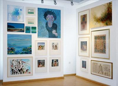 افتتاح معرض (بصمات جريئة) بمشاركة فنانين أردنيين