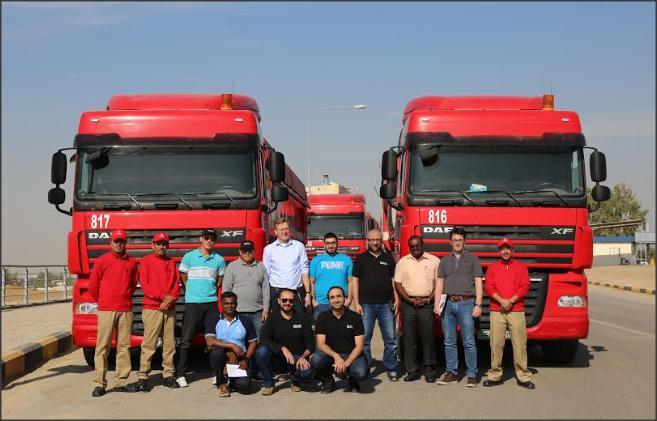 المناصير لتجارة الآليات تختتم الدورة المتخصصة لتدريب مدربي السائقين في منطقة الشرق الأوسط وشمال افريقيا